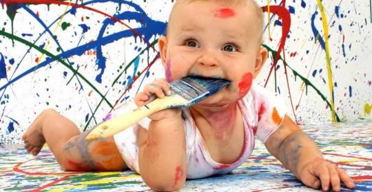 bambino-pittura